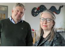 Patrik Arvidsson och Johanna Lundqvist