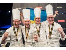 Vinnarbild silver till Sverige