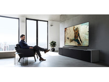 Panasonic TV EZ1002 room