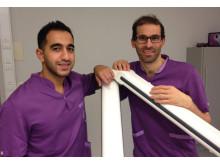 Från vänster: Ahmad och Shadi, tandläkare
