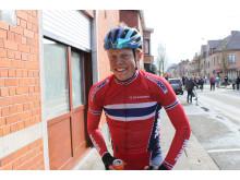 Anders Skaarseth etter 7. plass i Flandern Rundt U23 2015