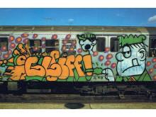cliff 159 sgt. slugther cartoon on train