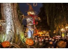 Halloween på Liseberg. Fågelskrämma