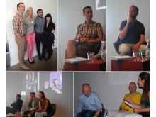 Bonnier Faktas presslunch - mat & dryck 20 maj 2014