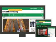 Omvärldsbevakning webbtjänst