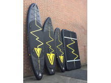 Hi-res image - VETUS - The YellowV line up of inflatable SUPs and platform