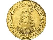 10 dukater, Drottning Kristina, 1645