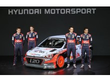 New Generation Hyundai i20 WRC team2