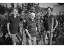 Tre generationer familjen Gras