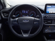 Ny Ford Focus Active interiør