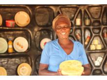 Konzolat Mpofu makes watermelon jam after podcast