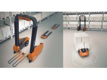 Vinnaren i den andra upplagan av designtävlingen Toyota Logistic Design Competition