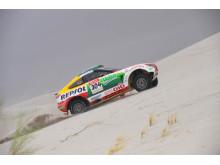 Mitsubishi drar sig ur Dakar Rallyt