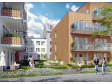 Brf Stinsen i Norrköping Innegård