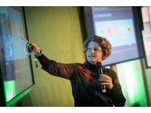 Für den Menschen werden vor allem kreative Tätigkeiten verbleiben, prognostizierte die Trendforscherin Birgit Gebhardt.