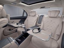 Mercedes S-Klass var ledstjärnan när interiören i Emirates nya förstaklass-kupéer skapades