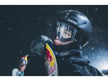 Marcus Kleveland på trening tidligere i uka. Foto: Process Films / Snowboardforbundet