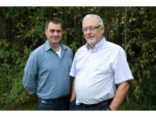 SLU-forskarna Gert Olsson och Birger Hörnfeldt