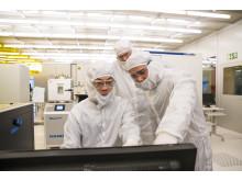 Grafenforskning kräver högklassiga renrum