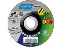 Norton Expert Accu 1-2-3 katkaisu-, hioma- ja kiillotuslaikka