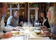Enjoy food at Nutter's restaurant