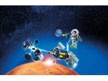 Bietet Schutz vor gefährlichen Himmelskörpern: Der Meteoroiden-Zerstörer (9490) von PLAYMOBIL