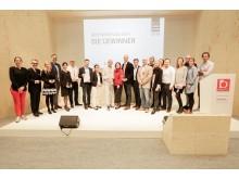 """Vorreiter für ein attraktives Arbeitsumfeld: Die Gewinner der """"Best Workplace Awards 2018""""."""