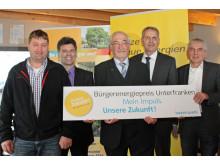 Start zum Bürgerenergiepreis Unterfranken 2016 beim Vorjahressieger SV Fatschenbrunn