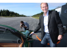 Divisjonsdirektør Olav Rygvold i Siemens
