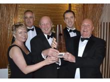 The team of John Hedgecock Memorial Award-2011