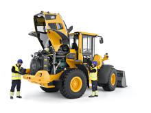 Volvo L60H, L70H och L90H - hjullastare med enkel service