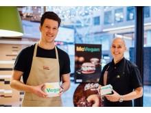 Carl-Johan Frelander, Orkla Foods Sverige, och Staffan Ekstam, McDonalds