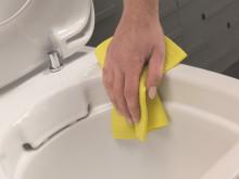 Ifö iCon Rimfree - toaletten utan spolkant