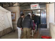 Läkare Utan Gränsers sjukhus i Al Salamah, Syrien