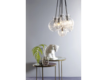 Krystallkule-lamper fra Hadeland Glassverk