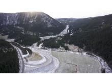 Roan vindpark adkomstvei Tostendalen november 2016