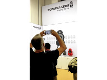 Next Generation Podspeakers attracts massive attention at IFA