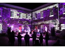 Lighting, musical magic at Chateau L'Etoc