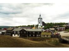 Der Bergbauort Røros