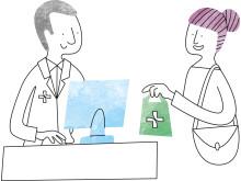 När du har hämtat ut läkemedel på recept sparas informationen i Läkemedelsförteckningen hos Hälsomyndigheten.