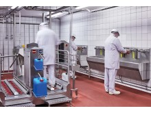 Clean&Dry Reinigungsbecken bei Ulmer Fleisch