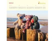 Mit Bärenherz durchs Jahr 2018 - Der neue Bärenherz-Kalender
