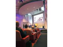 Omfattande konferensprogram