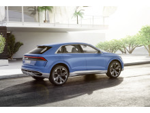 Audi Q8 concept i bombay blue