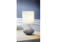 Bordlampe PHILIP hvid miljø (119,-)