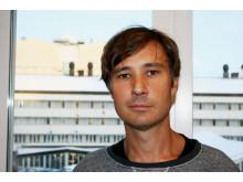 Johan Wrammert, läkare inom akutpediatrik (barnakuten)