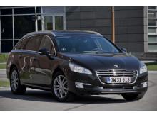 Peugeot 508 henter Beaujolais Nouveau til Danmark