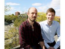 Björn Wickman och Niklas Lindahl