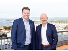 INNOVASJONSHJELP: Hjelper kunder i digitaliseringsrevolusjonen ved å tilby RightCloud og SolidCloud. T.v. Odd Inge Bjørdal, direktør for infrastruktur og drift, og Trond Pedersen, salgsdirektør for infrastruktur og drift, begge i Sopra Steria.