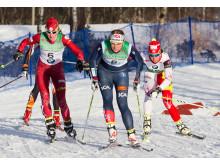 Sprint i Ramundberget Toppfjällsloppet